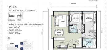 aria-floor-plan-layout-1159sf-type-C-2-+-1-bedroom