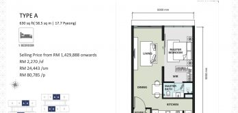 aria-floor-plan-layout-630sf-type-a-1-bedroom