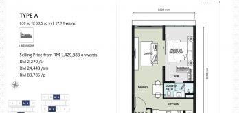 aria-floor-plan-layout-630sf-type-a-1-bedroom