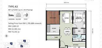 aria-floor-plan-layout-867sf-type-a-3-2-bedroom